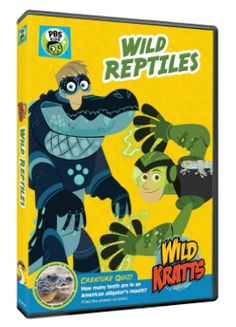 """#Giveaway Win the DVD """"Wild Kratts: Wild Reptiles"""" (Ends 9/9)"""