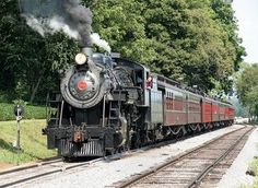 A ride through the Amish countryside aboard the Strasburg Railroad