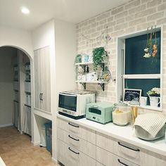 Kitchen Redo, Kitchen Hacks, Exterior Design, Interior And Exterior, My Dream Home, House Plans, Sweet Home, Home Appliances, House Design