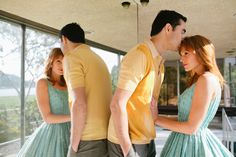 A Mad Men-inspired engagement photo shoot ... love it!!!