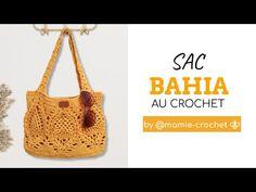 Comment faire UN SAC BAYA ANANAS AU CROCHET TUTO pas a pas #mamiecrochet - YouTube Lidia Crochet Tricot, Patron Crochet, Etiquette, Bucket Bag, Tote Bag, Crochet Bags, Point, Dessert, Youtube