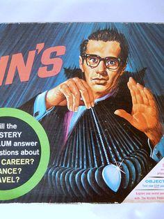 Kreskin's ESP Game vintage pendulum game 1967 Milton by brixiana