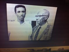 Via ATA History: The USLTA color line was finally broken with prodding from within the association by Alice Marble & Edward Niles & from outside by the ATA. Dr. Robert Walter Johnson (pictured w/ Arthur Ashe), Dr. Hubert Eaton & Bertram Baker were among the key ATA officials in negotiations that in 1950 led to the United States Lawn Tennis Association's acceptance of Althea Gibson's application to become the 1st black player to ever compete in the U.S. Nat'l Championship at Forest Hills.