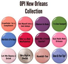 OPI Press Release: NEW ORLEANS COLLECTION   Cosmetic Sanctuary