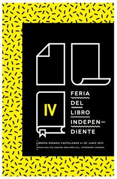 Propuesta para la IV Feria del Libro Independiente by Jorge Fernando González, via Behance
