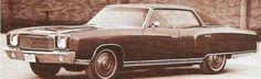 4 door prototype early '70's Monte Carlo.