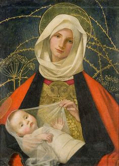 Madonna by Marianne Stokes, late 19th century, OP272 by Black Country Museums, via Flickr