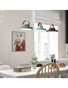 Forest Series-LED Pendant Light Scandinavian Pendant Lighting, Industrial Pendant Lights, Pendant Lamps, Hanging Light Fixtures, Hanging Lights, Simple Interior, Interior Design, Blue Pendant Light, Blue Chandelier