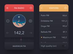 In this collection we have gathered 30 stunning radio apps UI design for inspiration. Use these radio apps ui design for inspiration on parts of your mobile ui app design. Web Design, App Ui Design, Mobile App Design, User Interface Design, Graphic Design, Html Design Templates, Car App, Digital Web, Ui Inspiration