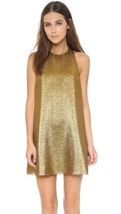 alice + olivia Harrison Flared Dress | SHOPBOP SAVE UP TO 25% Use Code:GOBIG15