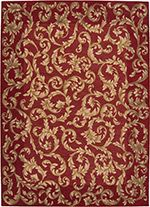 Nourison Sienna Ashton House rug - Traditional Runner x Nourison Rugs, Rug Studio, Transitional Area Rugs, Rug Store, Nebraska Furniture Mart, Cool Rugs, Red Rugs, Rugs Online, Image House