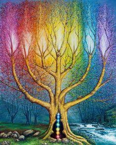 El árbol de luz