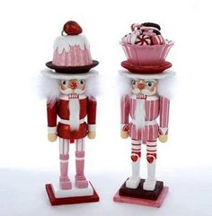 Kurt Adler Hollywood 2 Assorted Nutcrackers Candy Dish Hat  Cake Hat Wood 15 Nutcrackers * This is an Amazon Affiliate link. You can get more details by clicking on the image.