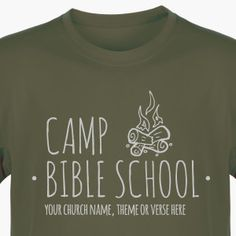 Camp VBS Shirt for Camp Discovery VBS - Custom VBS T-Shirt (Available in 40+ Shirt Colors) #CampDiscoveryVBS #VBSTShirt #VBS