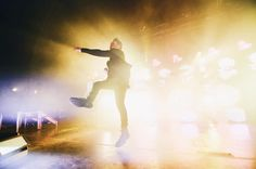 #MHPhighnote. This month @music is looking for your best high-energy music photos and videos. Maybe its a fan belting out the lyrics to a song or its @hoodieallen seen here kicking up a storm at the Riviera Theatre in Chicago. For a chance to be featured add the #MHPhighnote hashtag only to visuals taken this month and only submit your own. If you include music in your video submissions please only use music to which you own the rights.  Photo by @amerchantphoto by music