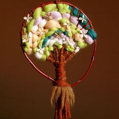 wool tree with tutorial
