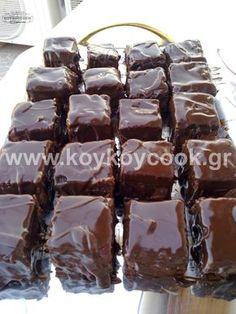 Greek Sweets, Greek Desserts, Greek Recipes, Cake Mix Cookie Recipes, Cake Mix Cookies, Sweets Recipes, Candy Recipes, Brownie Bar, How Sweet Eats