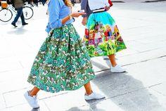 Trend Allert: gonne ampie, il ritorno degli anni 50 e della femminilità | Style Shouts