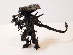 "Vintage 1992 Kenner Queen Alien Monster Xenomorph Action Figure Blue Toy Doll 6"" #Kenner"