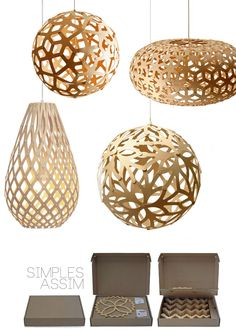 Cut out hanging lights
