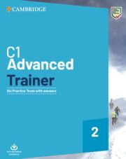 C1 advanced trainer : six practice tests with answers. Cambridge University Press, 2020.Six full practice tests plus easy-to-follow expert guidance and exam tips designed to guarantee exam success. The 'with answers' edition can be used to practice the exam at home or in class, providing an excellent opportunity for teachers and students to familiarise themselves with the C1 Advanced examination format. English Exam, English Grammar, Vocabulary Exercises, Exam Success, Listening Test, Exams Tips, Cambridge English, Train Activities, Exam Papers