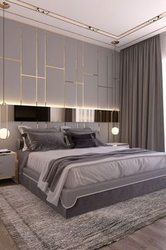 The most ideal approach to begin modernizing in your life is to have a modern bedroom. Modern bedroom decor can be generally easy to do. A couple of new modern frill… Continue Reading → Bedroom Wardrobe, Modern Bedroom Design, Luxurious Bedrooms, Simple Bedroom Design, Home Decor, Modern Bedroom, Small Bedroom, Simple Bedroom, Interior Design