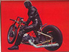 Turbonique INC powered motorcycle