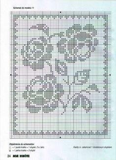 Gallery.ru / Фото #44 - Crochet Filet pour Point de Croix 1 - Mongia