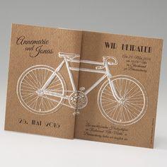 #Karte  http://www.belarto.de/hochzeitskarten/cards/kaarten/Hochzeitseinladung Fahrrad -18275.html?www=0