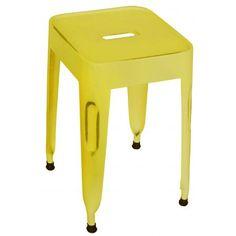 Kidsdepot krukje metaal Pure old yellow: fantastisch en #stoer op de #kinderkamer #industrieel #geel