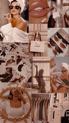 Bad Girl Wallpaper, Pink Wallpaper Iphone, Iphone Background Wallpaper, Iphone Wallpaper Fashion, Vogue Wallpaper, Beige Wallpaper, Iphone Backgrounds, Mobile Wallpaper, Iphone Wallpaper Tumblr Aesthetic