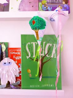 Origami Kite, Origami Folding, Kites Craft, Oliver Jeffers, Stick Man, Green Eggs, Read Aloud, Kids Decor, Tissue Paper