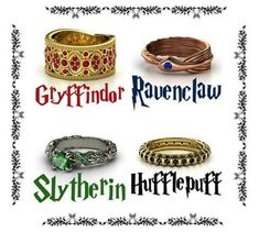 Harry potter Inspired Rings Gryffindor Ravenclaw Slytherin Hufflepuff Size in Jewelry & Watches, Fashion Jewelry, Rings Harry Potter Ring, Anillo Harry Potter, Bijoux Harry Potter, Objet Harry Potter, Mode Harry Potter, Harry Potter Schmuck, Harry Potter Wedding Rings, Harry Potter Clothing, Slytherin Ring