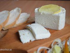 Najlepšie recepty na domáce mliečne výrobky Kefir, Homemade Cheese, Home Recipes, Feta, Dairy, Food And Drink, Butter, Milk, Fitness