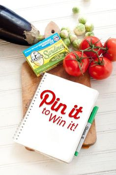 GIVEAWAY!! Pin it to Win it for a chance to win a $100 Amex Gift Card! Winners announced August 31st, 2015! For quality ingredients and more visit seasonproducts.com!