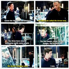 Arrow - Barry Allen & Diggle #Season2