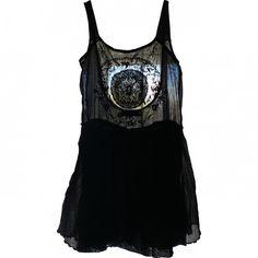 JUMPER DRESS ISABEL MARANT (€225) ❤ liked on Polyvore featuring dresses, tops, black dress, isabel marant dresses, isabel marant, black cotton dress and kohl dresses
