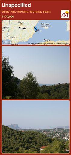 Unspecified in Verde Pino Moraira, Moraira, Spain ►€100,000 #PropertyForSaleInSpain