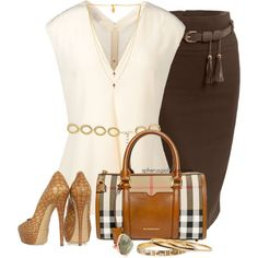 A fashion look from May 2014 featuring STELLA McCARTNEY blouses, Casadei pumps and Burberry shoulder bags. Browse and shop related looks.