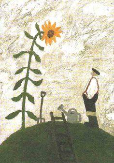 Gary Bunt. Secret Garden. Postkaart