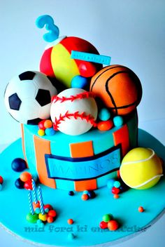 bolos para festas infantis_meninos_11