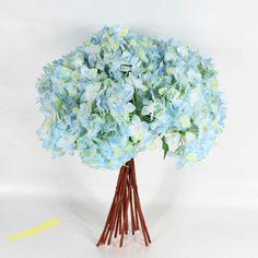 Artificial Craft Hydrangea Bouquet Home Wedding Fake Bridal Silk Flowers Popular