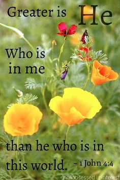 1 John One of my favorite bible verses. Love The Lord, God Is Good, Bible Verses Quotes, Bible Scriptures, Healing Scriptures, Faith Bible, Favorite Bible Verses, Faith In God, Christian Life