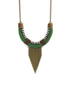 Colar Zaki - Flow Acessórios Tassel Necklace, Flow, Jewelry, Jewlery, Bijoux, Schmuck, Jewerly, Jewels, Jewelery