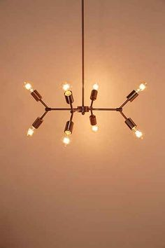4040 Locust Metal Pipe Pendant Light - Urban Outfitters