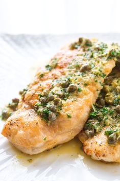 Chicken Piccata - this recipe seems simple enough (and now I know Food Lion hides the capers near the olives, so I could try making my own piccata.)