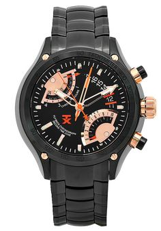 Price:$403.06 #watches TX T3C163, TX is recognized for creating quality luxury items. Significant product features include its case, black dial, band, quartz perpetual calendar movement, and sapphire, scratch resistant crystal