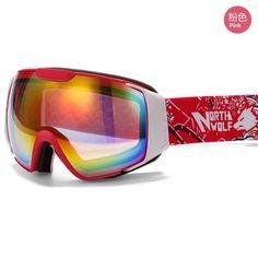 577f335a17cd NORTH WOLF Cheap Snow Goggles. Cheap Snow Gear. NORTH WOLF Ski Snowboard  Goggles
