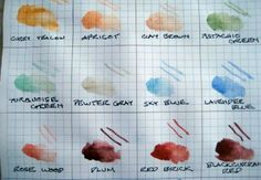 Color Recipes and Instructions for Egg Tempera Paint