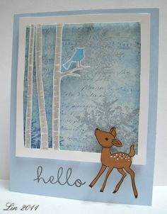 Hello Deer by quilterlin, via Flickr